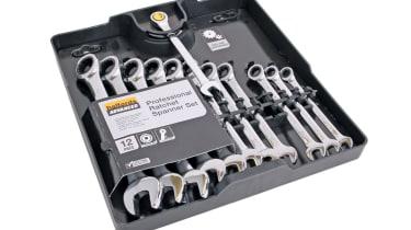 Halfords Advanced Professional Ratchet Spanner Set