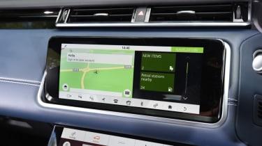 Range Rover Velar - central screen