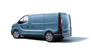 Renault Trafic van - rear