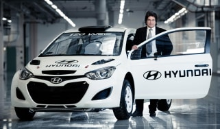 Hyundai i20 WRC Michel Nandan