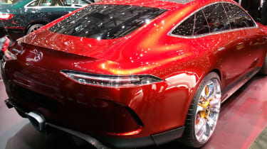 Mercedes-AMG GT Concept Geneva - rear