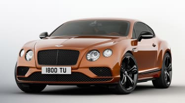Bentley Continental GT Speed Black Edition front