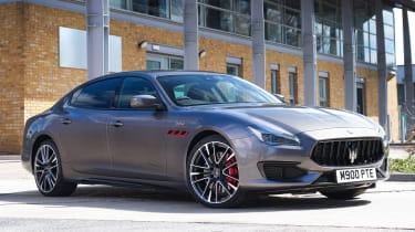 Maserati Quattroporte Trofeo - front static