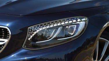 Mercedes S 500 Cabriolet 2016 - headlight