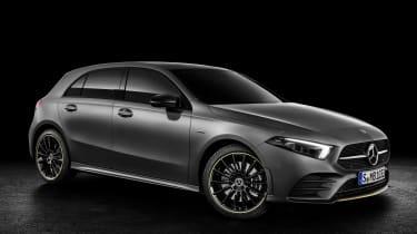 New Mercedes A-Class - studio front