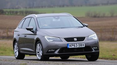 SEAT Leon ST estate action