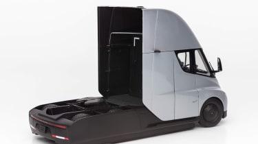 Tesla Semi Truck model - rear 3/4