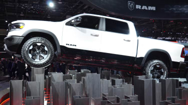 RAM 1500 - Detroit front
