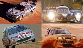 Top 10 Peugeot Sport motorsport cars - header