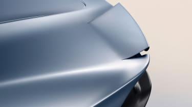 McLaren Speedtail - rear spoiler