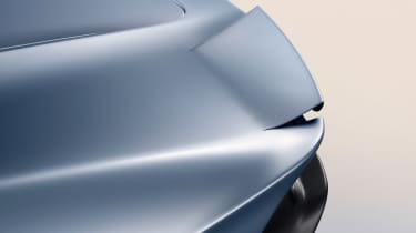 McLaren Speedtail - rear spoiler