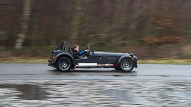 Caterham 620S - side tracking