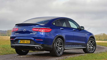 Mercedes-AMG GLC 43 Coupe - rear static