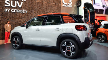 Citroen C3 Aircross - Frankfurt rear