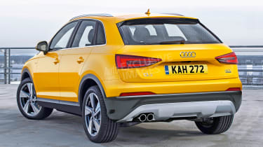 Audi Q3 - watermarked rear