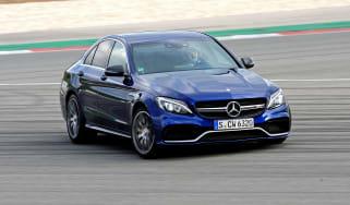 Mercedes-AMG C63 S - cornering