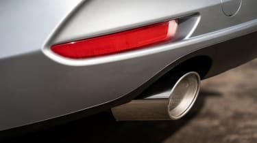 Mazda 3 saloon - exhaust