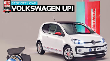 City car of the Year 2017 - Volkswagen up!