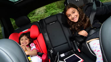 Audi SQ7 long-term second report - children