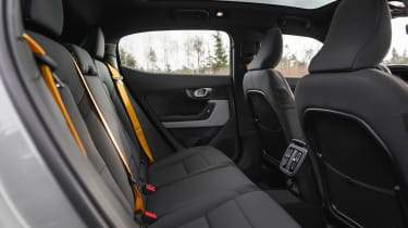 Polestar 2 prototype - rear seats