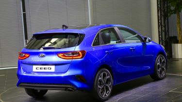 Kia Ceed - rear/side