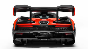McLaren Senna - full rear