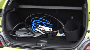 Hyundai Kona Electric - fourth report boot
