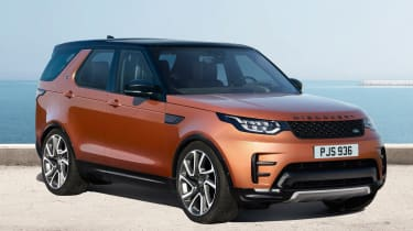 Land Rover Discovery 2017 - dynamic design pack front