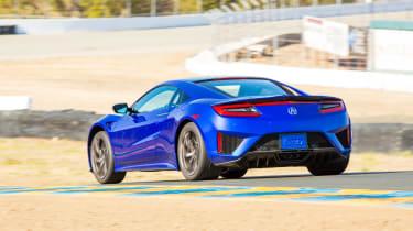 New Honda NSX 2015 rear action