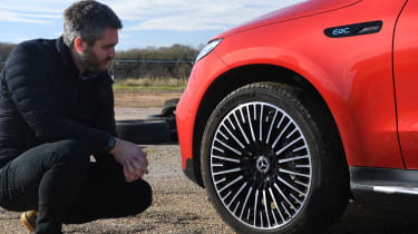 Mercedes EQC - long termer wheel