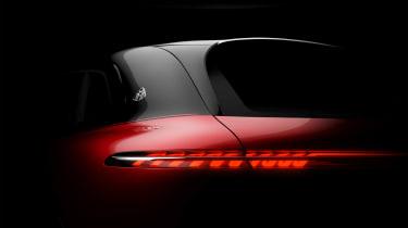 Mercedes-Maybach EQS SUV - rear teaser