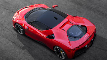 Ferrari SF90 Stradale - above