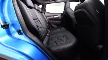 Nissan Qashqai - back seats