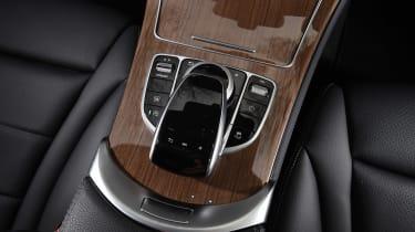 Mercedes GLC Coupe - centre console