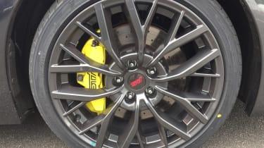 Subaru WRX STI - wheel