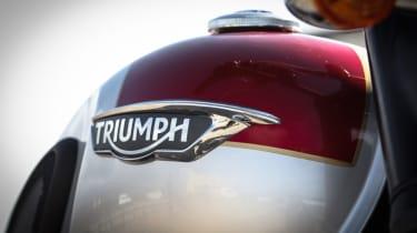 Triumph Bonneville T120 review - fuel tank