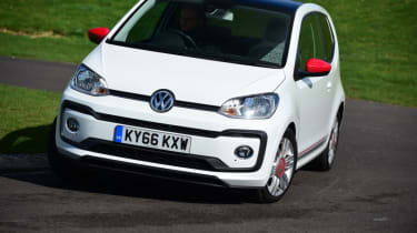 Volkswagen up! - long termer second report cornering
