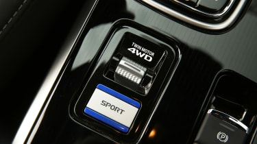 Mitsubishi Outlander PHEV - interior detail