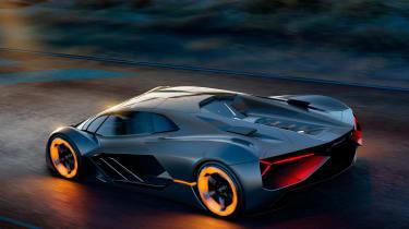 Lamborghini Terzo Millennio - rear