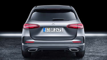 Mercedes B-Class - studio full rear