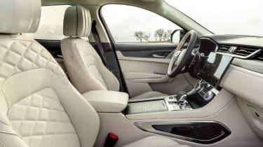 Jaguar F-Pace PHEV - front seats