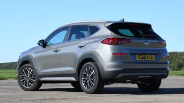 Hyundai Tucson 48v - rear static