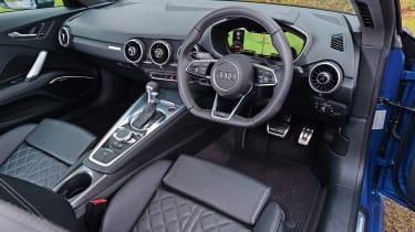 Audi TTS - dash