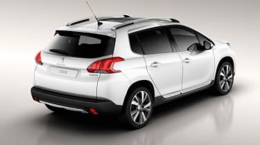 Peugeot 2008 rear