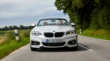 BMW 220d Convertible - full front