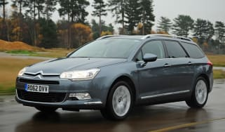 Citroen C5 Tourer front tracking