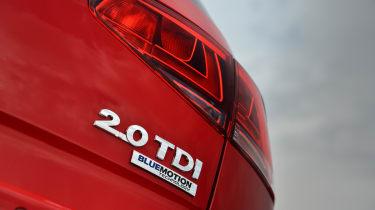 Volkswagen Golf Mk7 2.0 TDI badge