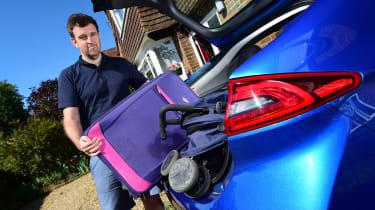 Hyundai Ioniq Plug-in - luggage