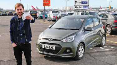 Our Hyundai i10 is leaving us soon. In 10 months, we've covered over 8,000 miles in the little city car, many of which have been to and from various airports.