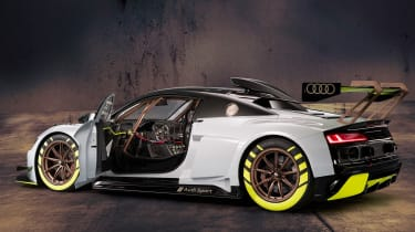 Audi R8 LMS GT2 - rear door open